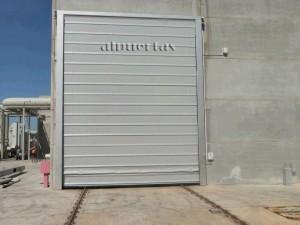 Puerta Rápida plegable
